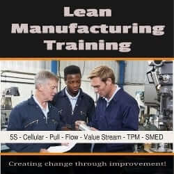 lean manufacturing training certification