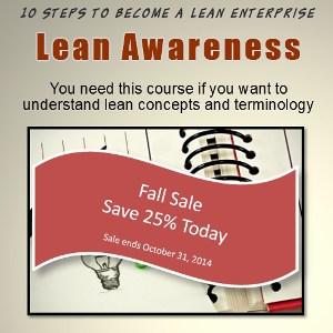 lean awareness certification trainng