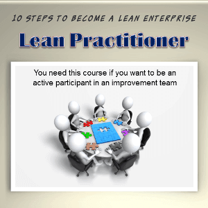 Lean Practitioner Training and Certification Online