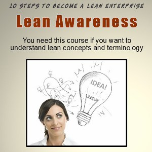 Lean Awareness Training and Certification Online