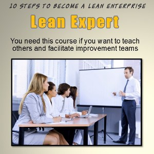 lean mfg expert certification training