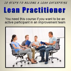 lean manufacturing practitioner training